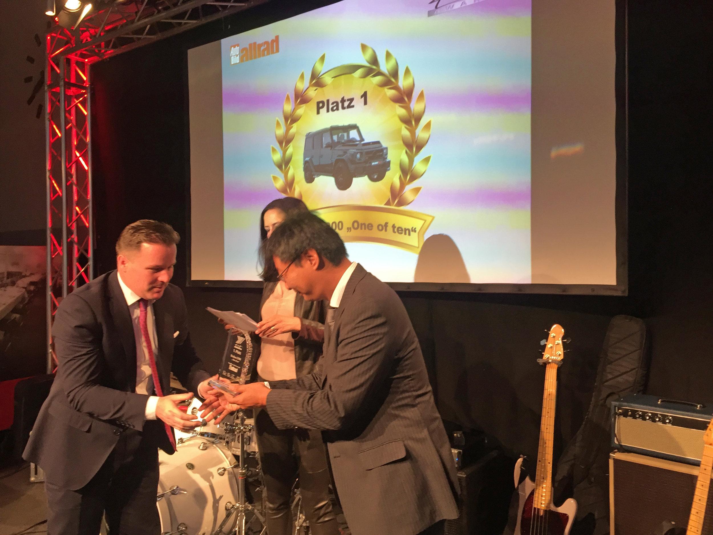 Yokohama 4x4 Award Preisübergabe 2018