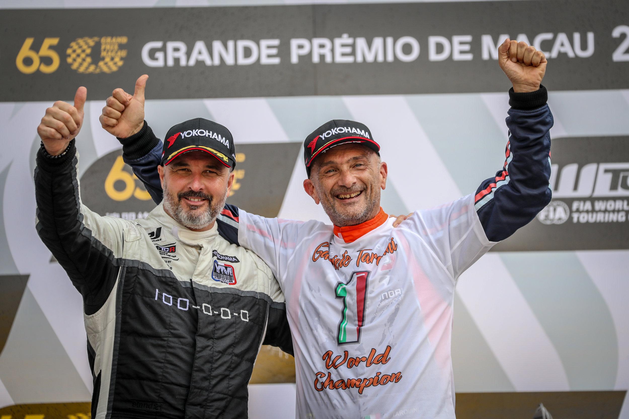 WTCR Yvan Muller Tranquini Gabriele YOKOHAMA Motorsports Macau