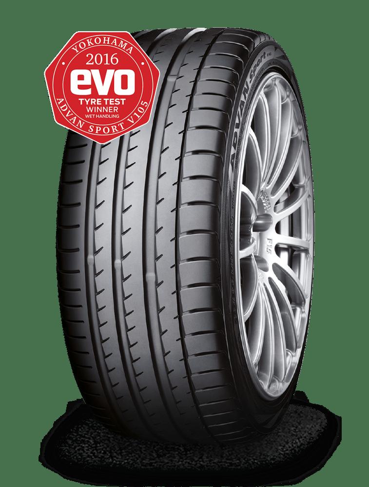 Dieser Reifen wurde vom EVO Magazin 2016 ausgezeichnet