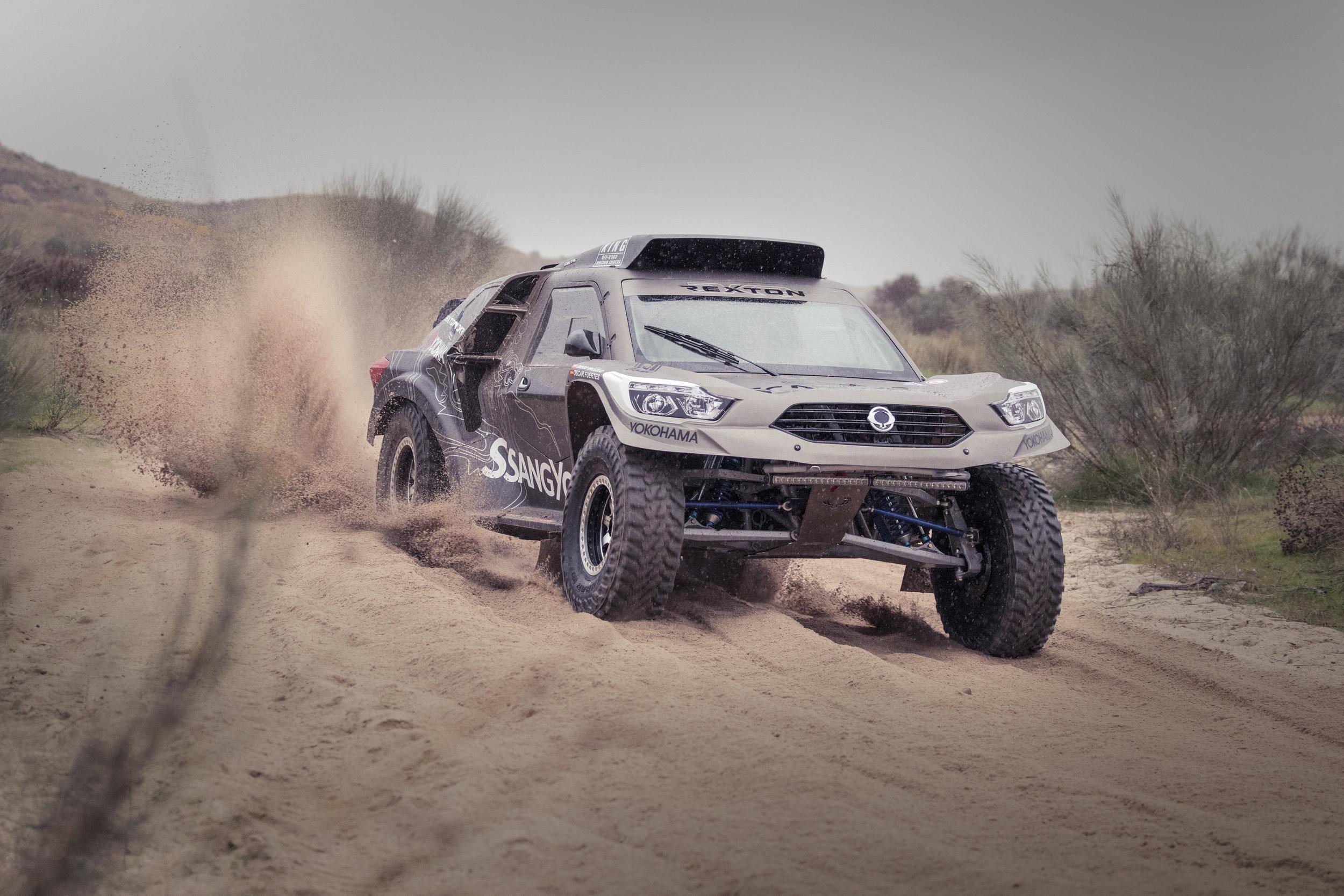 Dakar Rallye 2019 auf YOKOHAMA Geolandar M/T G033