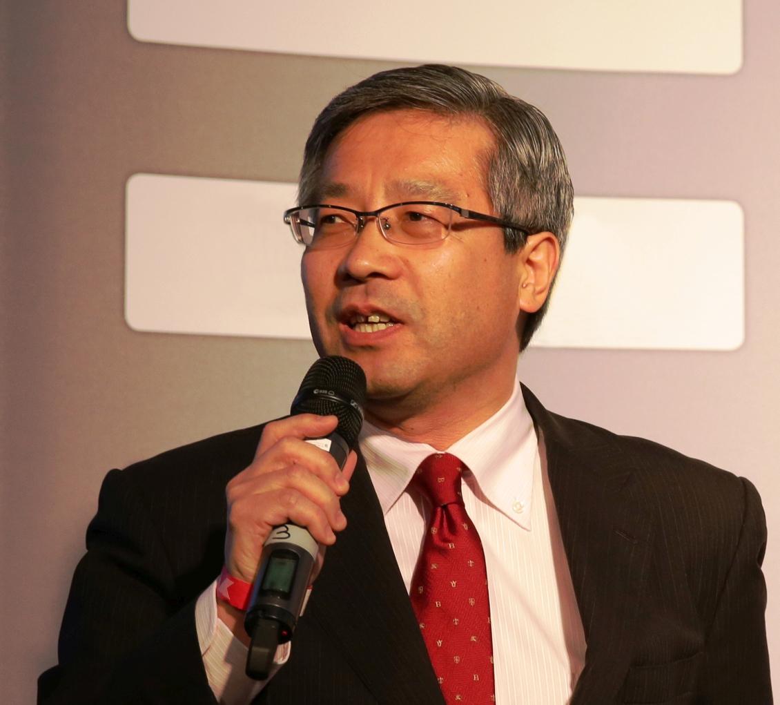 Keishi Hashimoto, President YOKOHAMA Europe GmbH und YOKOHAMA Reifen GmbH