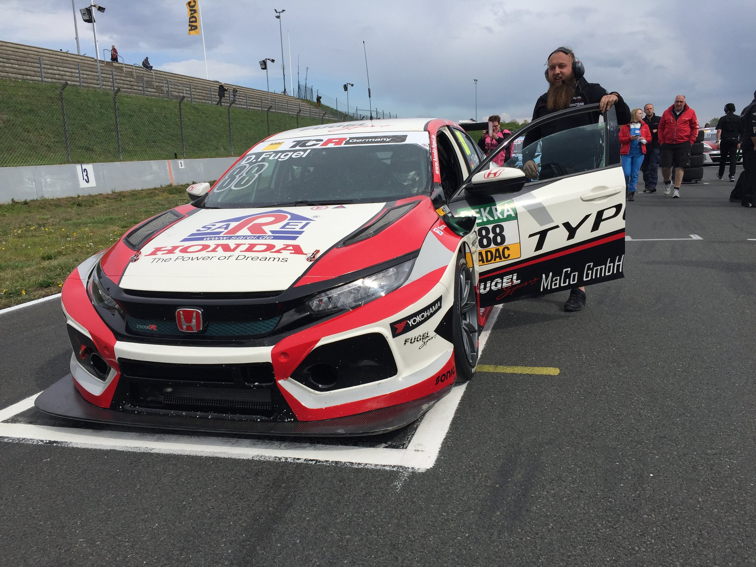 ADAC TCR Germany Hyunday Team Fugel