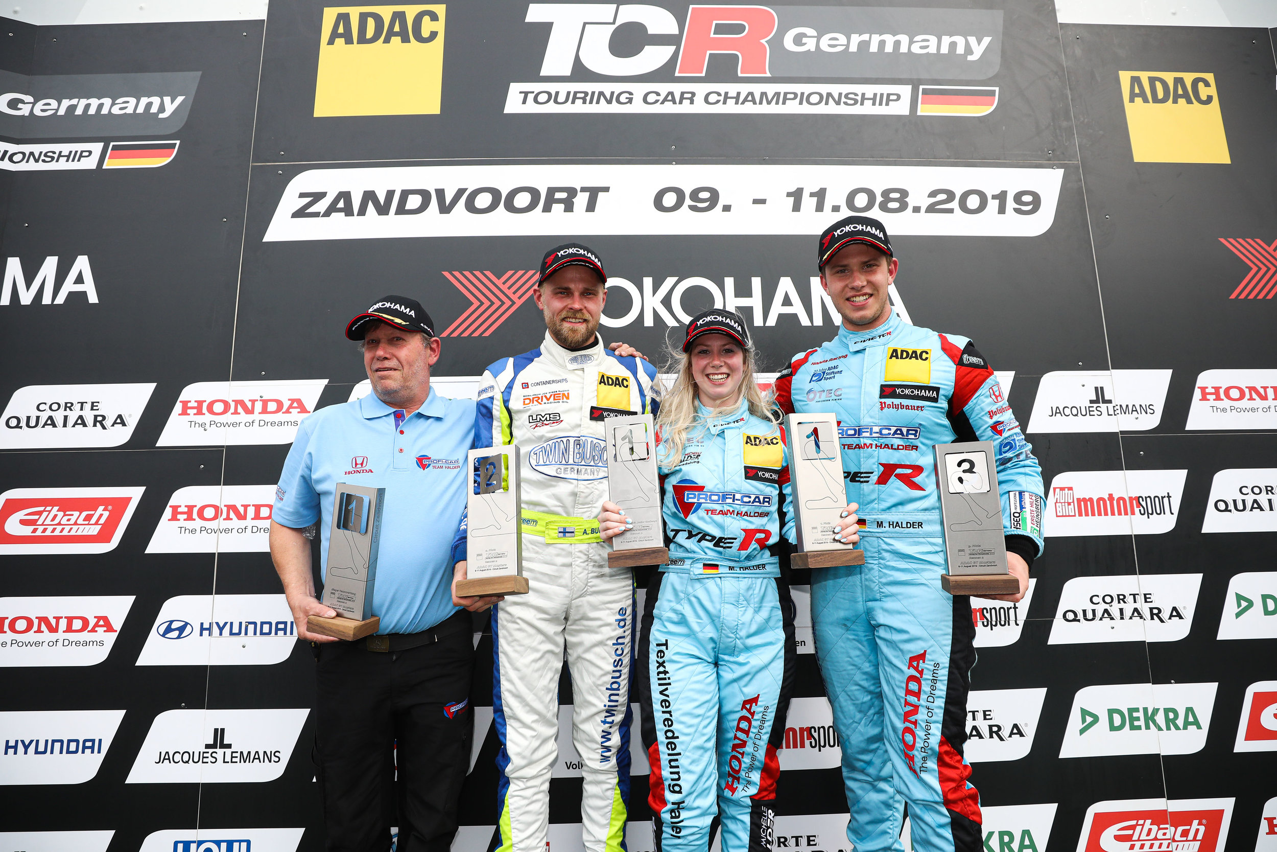 ADAC TCR Germany, Zandvoort, Profi-Car Team Halder, Michelle Halder, LMS Racing, Antti Buri, Profi-Car Team Honda ADAC Sachsen, Mike Halder
