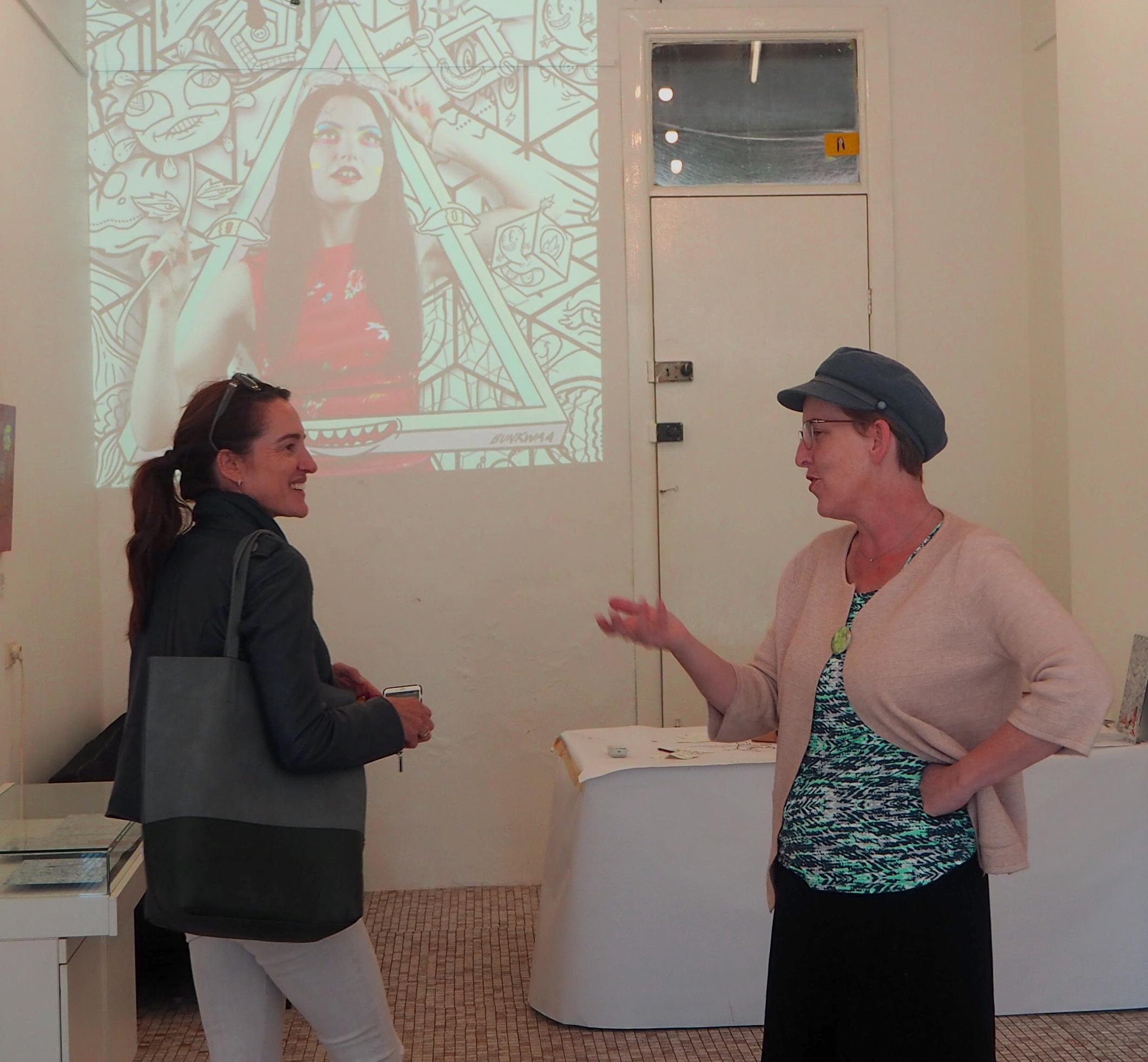 Sophia de Mestre on Culture Scouts walking tour with Bess O'Malley
