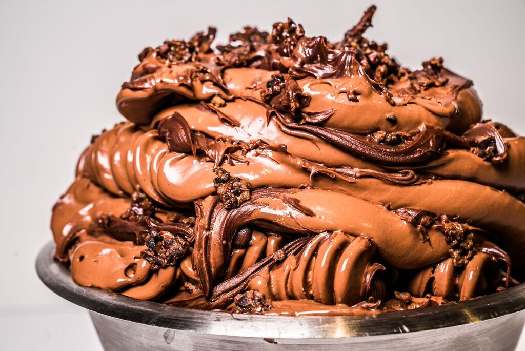 Ohhh lordy. Chocolate gelato at Messina to stop your heart this Easter.