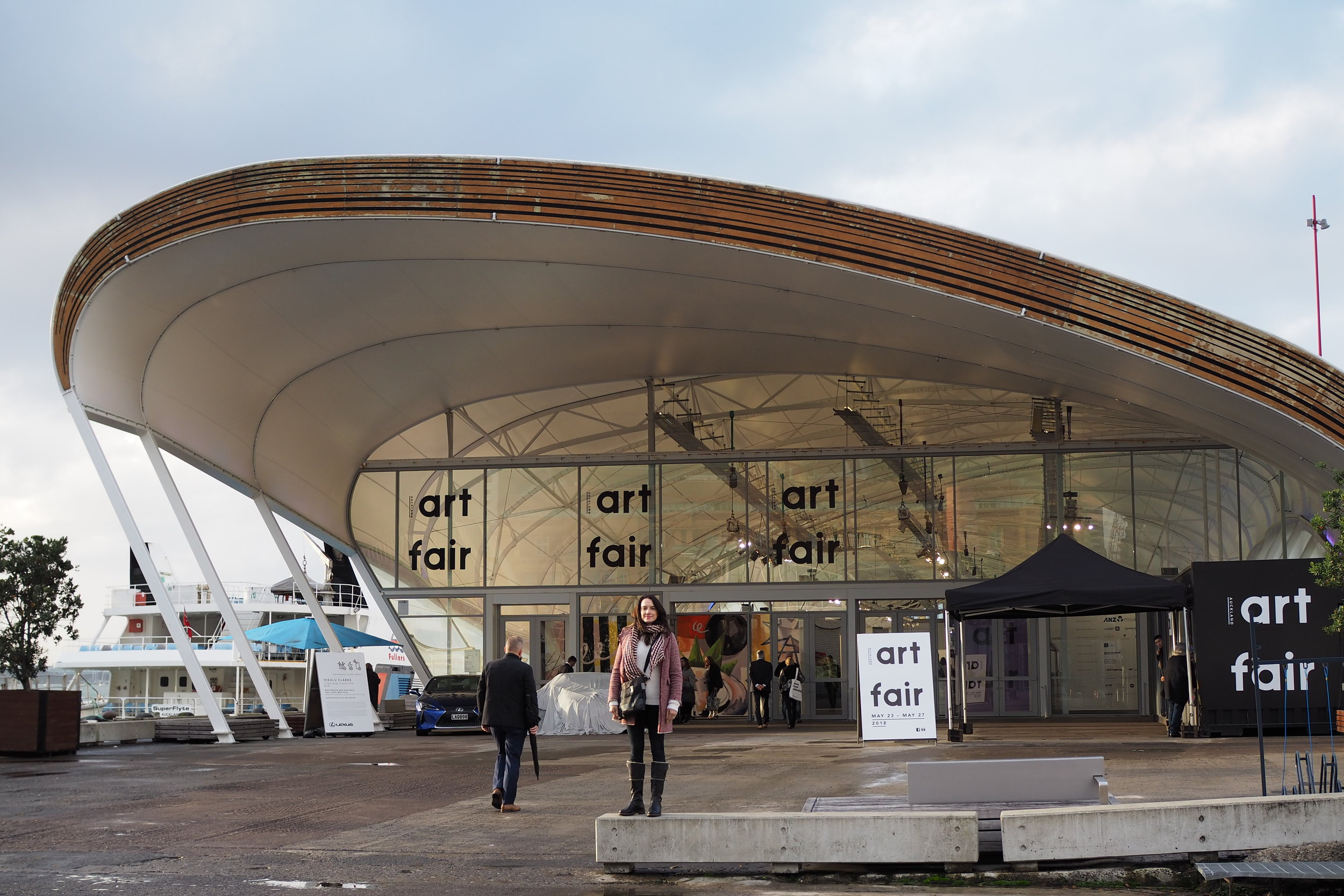 The Cloud played host to this years Auckland Art Fair.