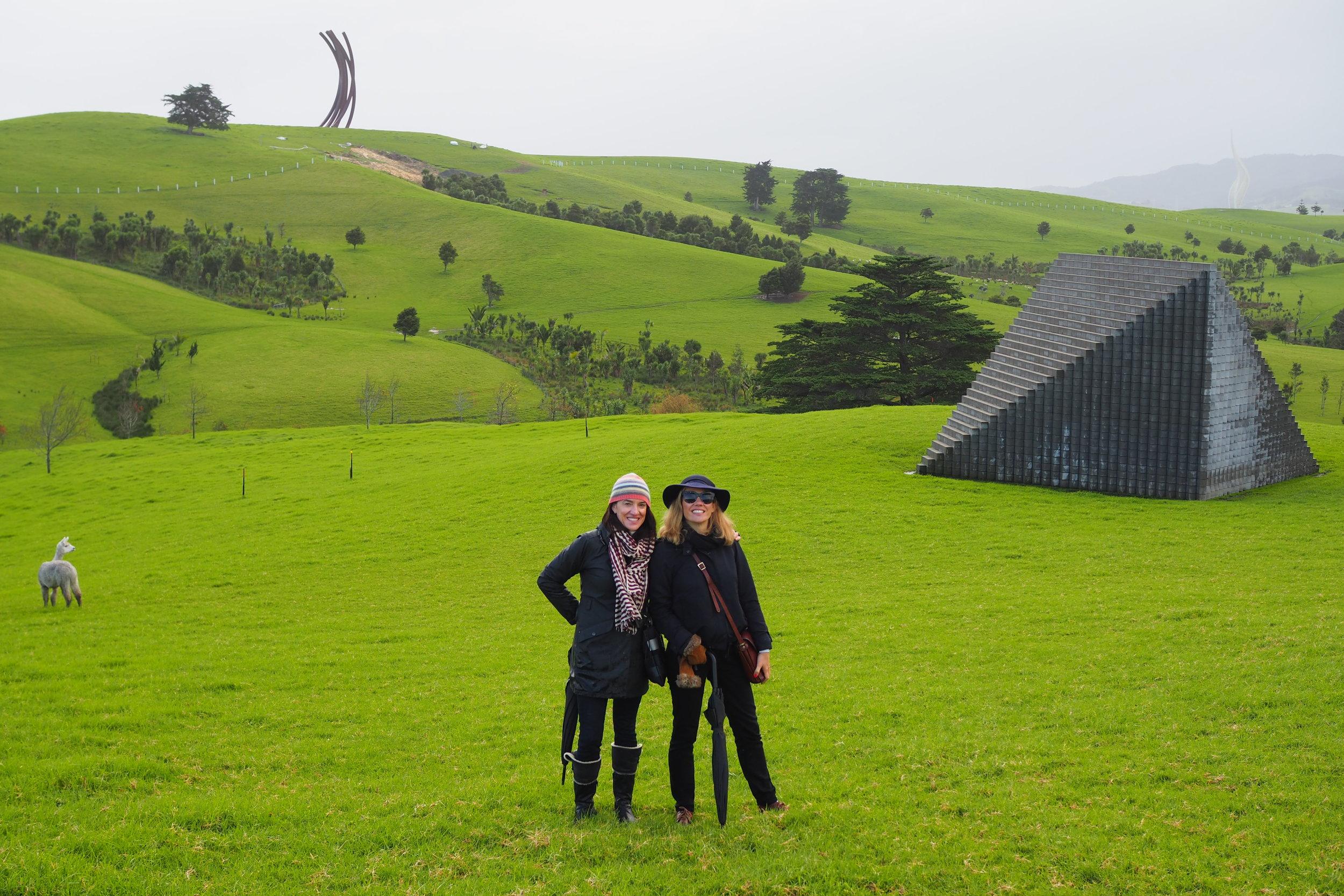 Culture Scouts braved the crisp cold to explore the sculptural wonderland.