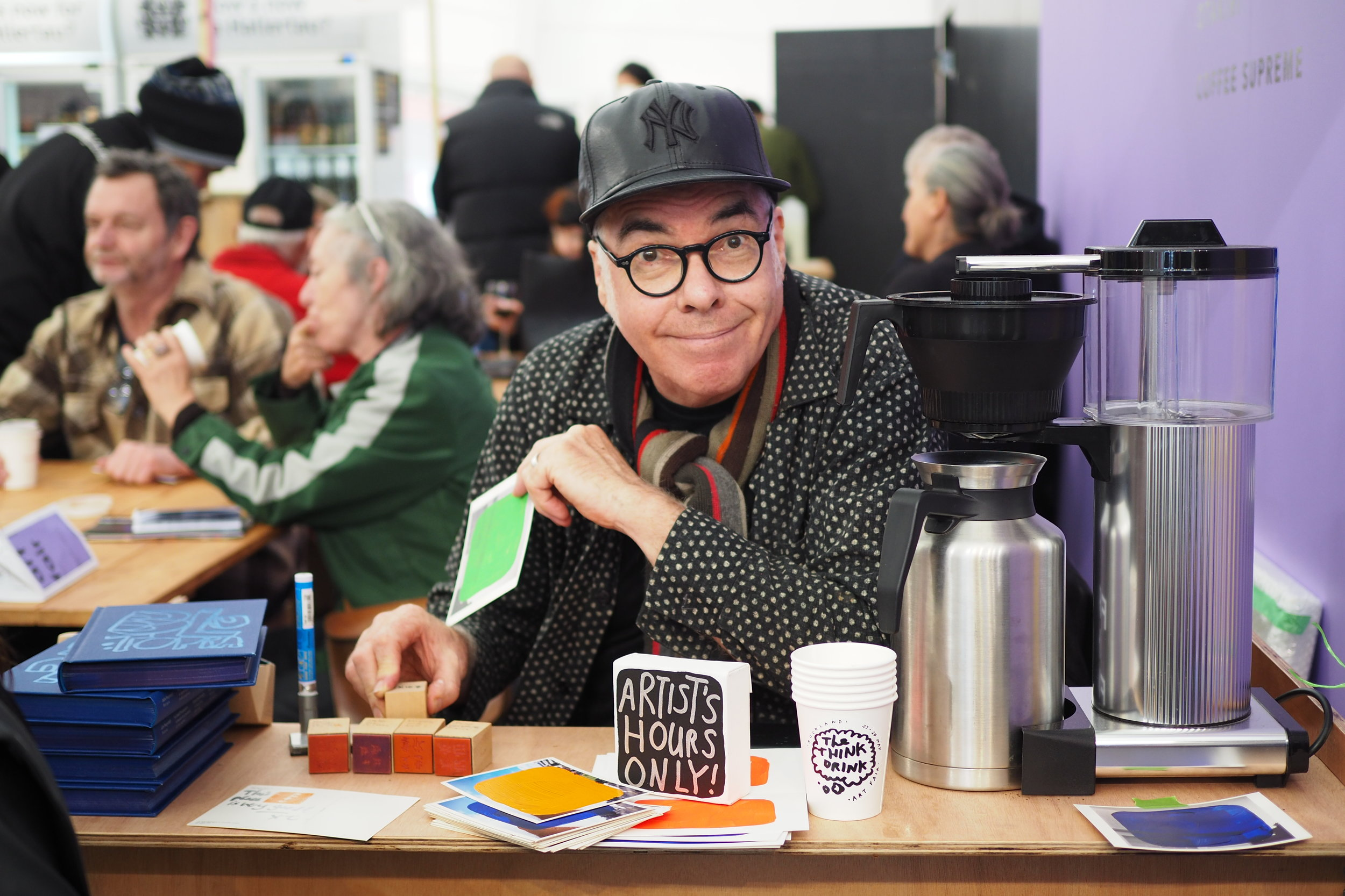 We grabbed a coffee and braved a conversation with well-known New Zealand contemporary artist, John Reynolds.