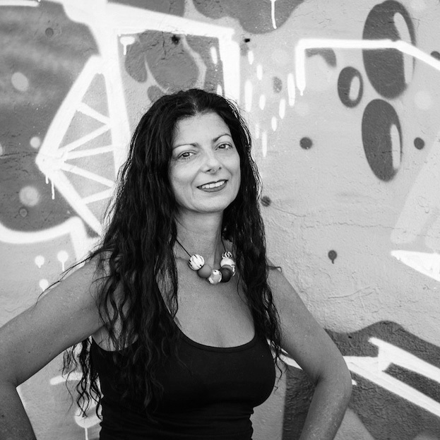 MELINDA VASSALLO - Melinda is a Sydney born local of the Inner West and expert on all the ins and outs of Sydneys street art culture. She is an established graphic designer by trade, who sources her inspiration from the intricately-realised artworks she discovers on the streets.She is the author of Street Art of Sydney's Inner West and has spent the last fifteen years photographing, researching and advising graffitists and artists of all forms around Sydney's streets. Melinda is a natural raconteur, bringing her extensive experiences and knowledges in art-making to her tour groups.