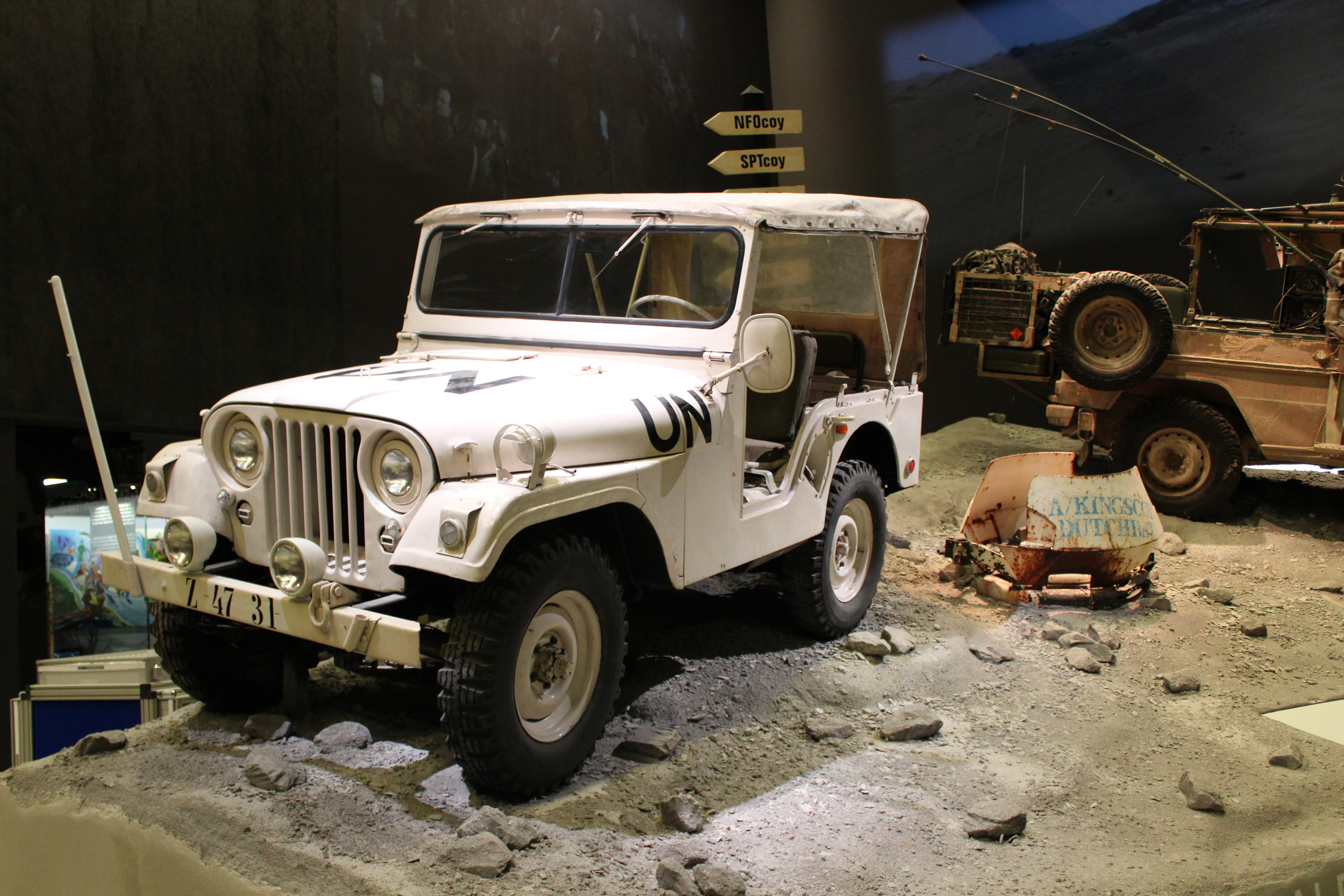 UNIFIL 'Nekaf' jeep