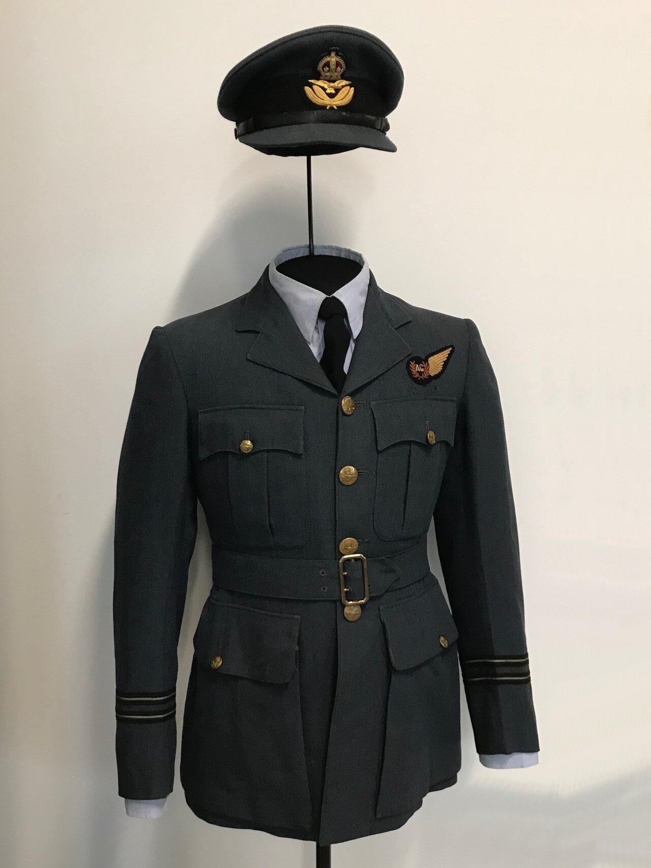 RAF bomber crew uniform