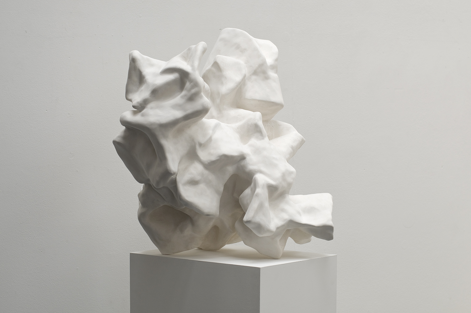 2011 'Tomb for 71 Volumes' Paper and Plaster 76 x 57 x 59 cm 1500px w highest qual prog.jpg