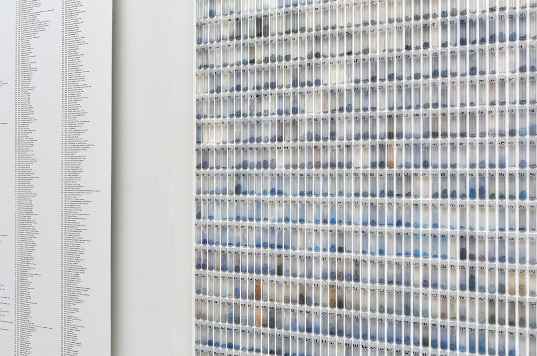 2015 'A Thousand German Skies'. Archival Print on Aluminium, Glass, Plastic, Print Dust. 174cm by 95.5cm image 2 1500px w.jpg