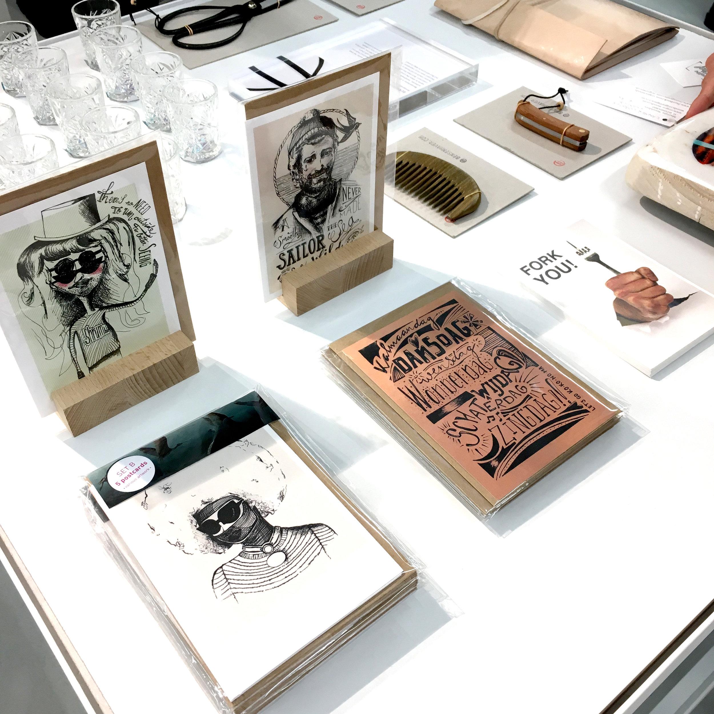 Kokonoma art prints @Hutspot Rotterdam foto ©Darja Brouwers