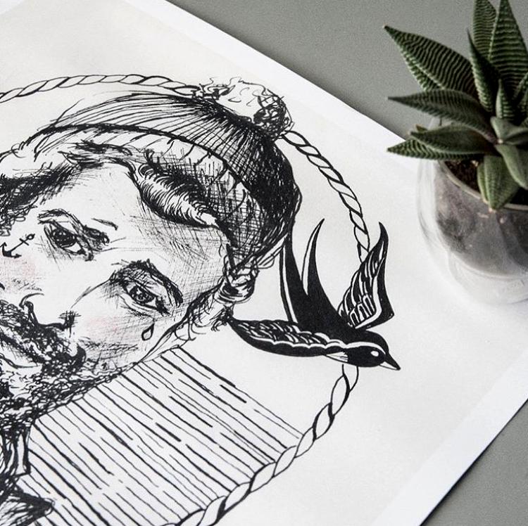 Heel bijzonder om foto's te ontvangen van mensen die mijn artwork in huis hebben.fotografie:©eefje van dongen