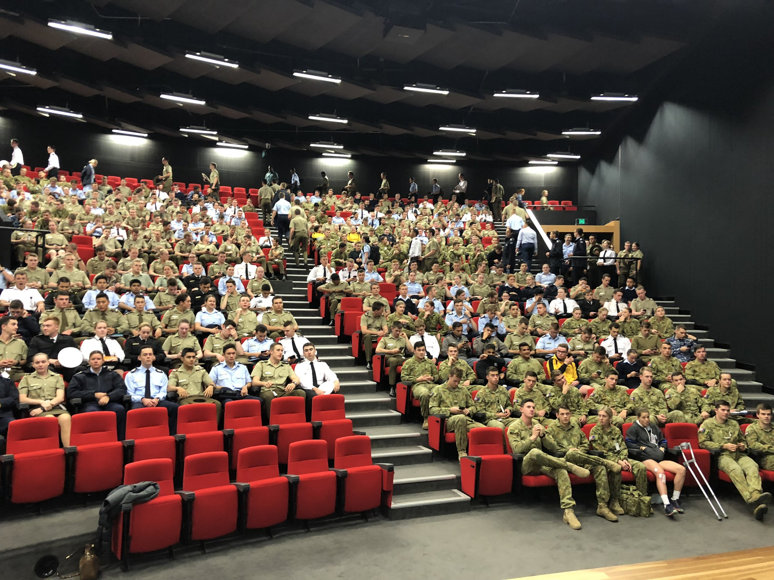 LTCOL Ross Chapman- Commanding Officer ADFA -