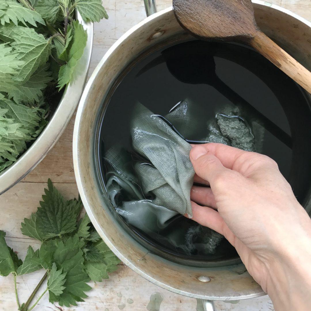 Rebecca Desnos Nettle Dye & Handmade Apothecary Nettles chat