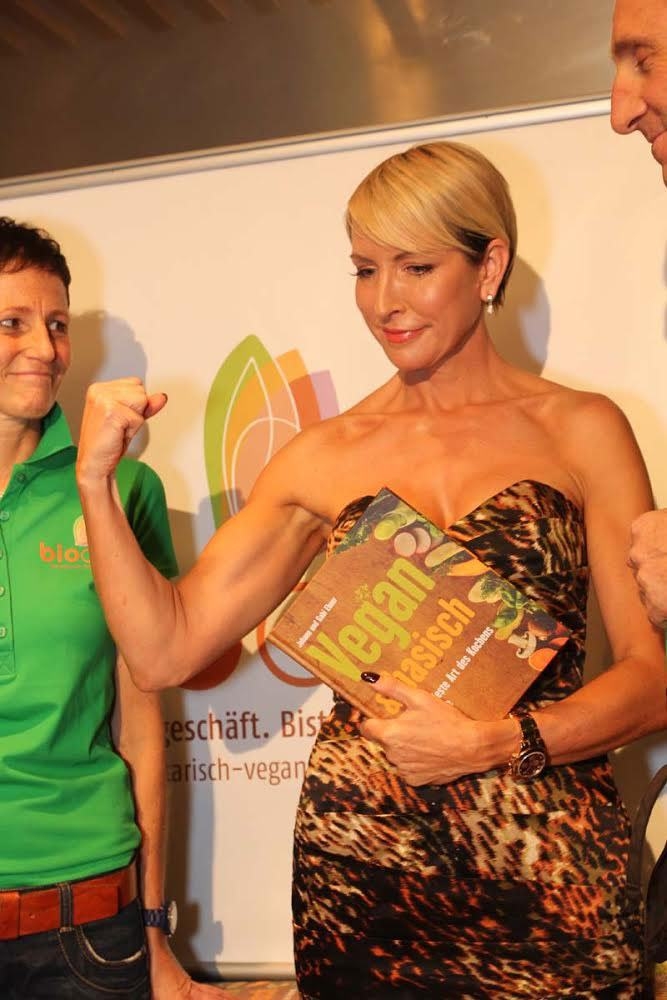 Be Strong! Eat well and exercise.Top tips from Heather.