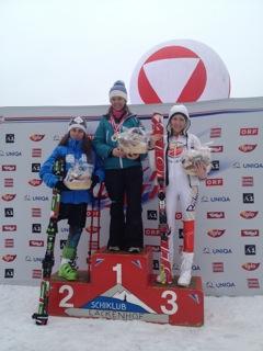 On the podium again for Heather! 2012 Bronze Medal at Lackenhof, Austria.