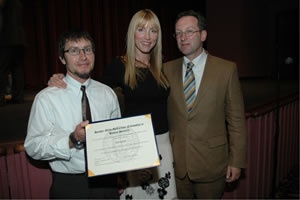 Heather collecting award