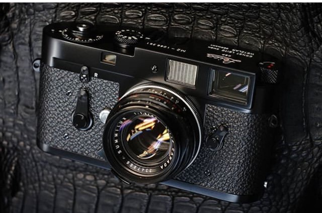 1963 Leica M2 all done! Complete overhaul, repaint and reskin. New shutter curtains. Basically a brand new camera.