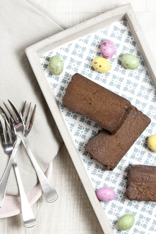 Four ingredient steam oven chocolate truffle cake
