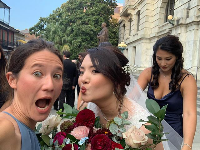 Congrats to my dear and beautiful friend @valerizer - so pumped to celebrate you and Matt. What a truly joy-filled couple of days it was! Love you guys so much.