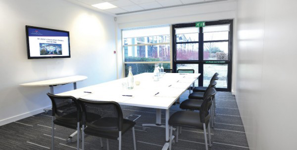 R4 Interiors Refurbishment: Cormack Room, St John's Innovation Centre, Cambridge