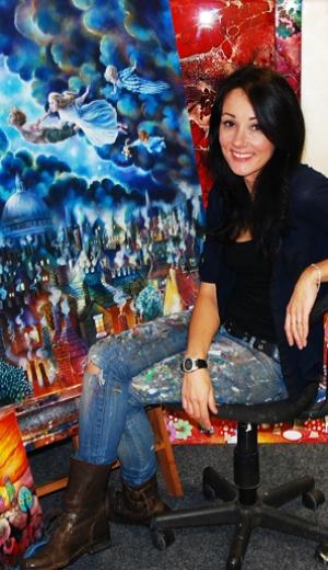Artist Kerry Darlington