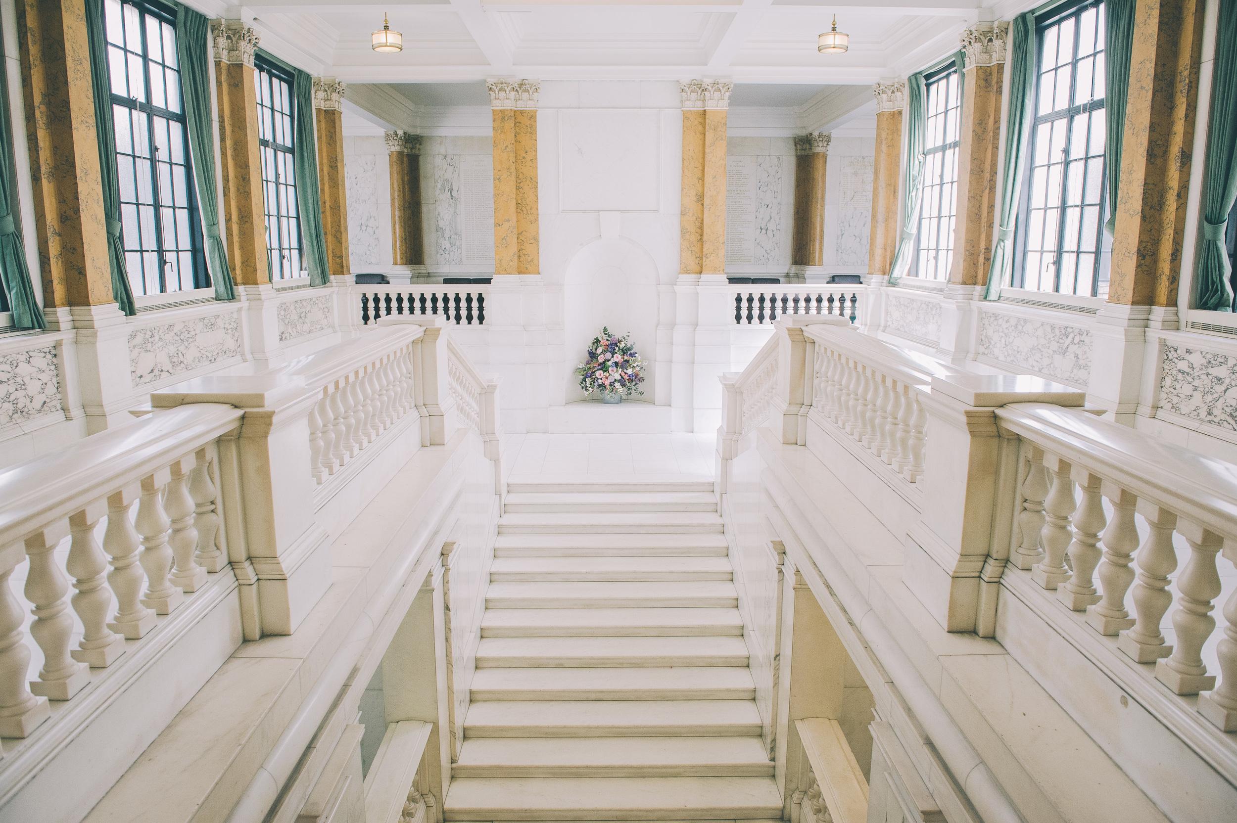camden town hall interior