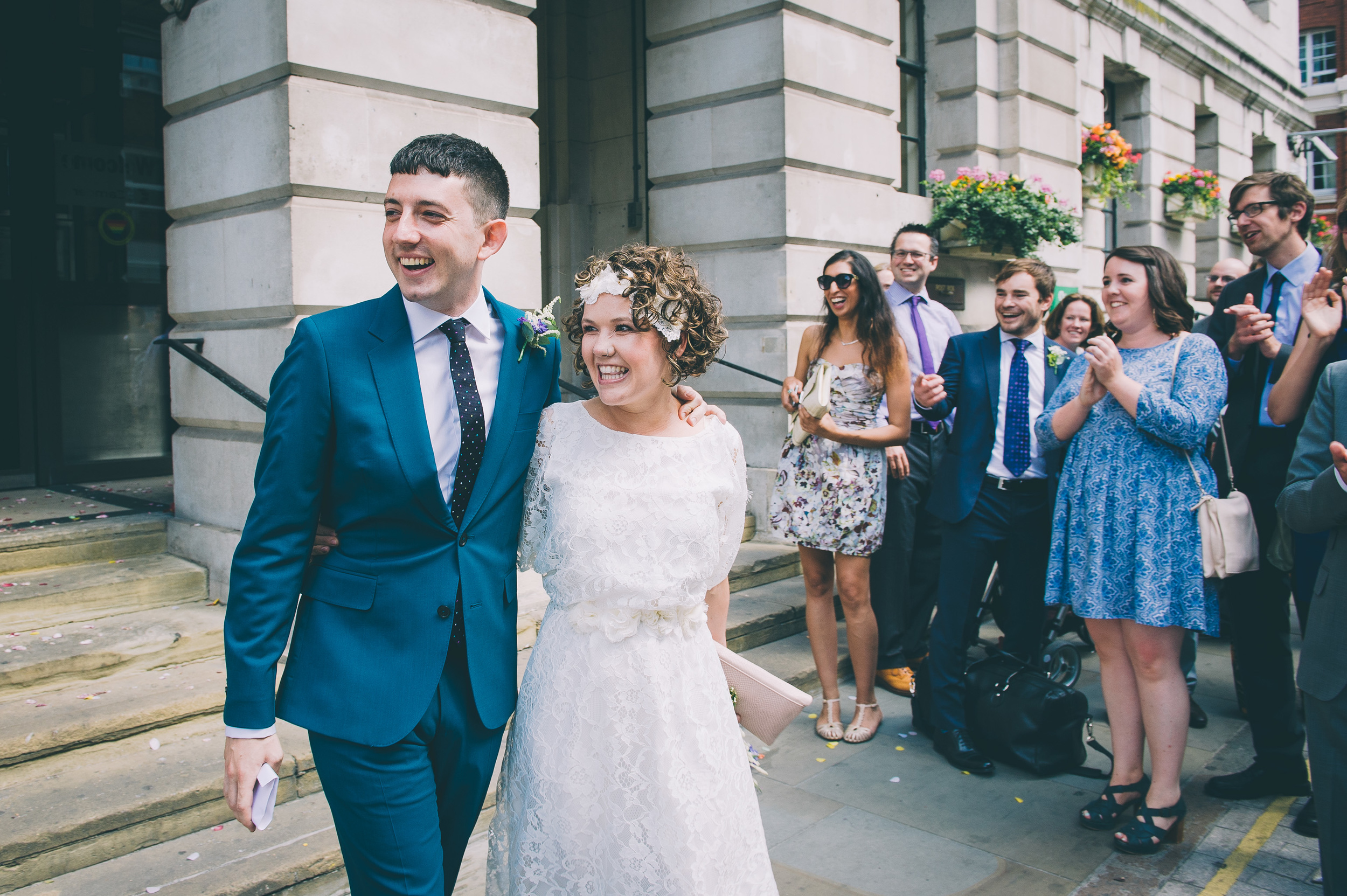 Camden town hall London wedding
