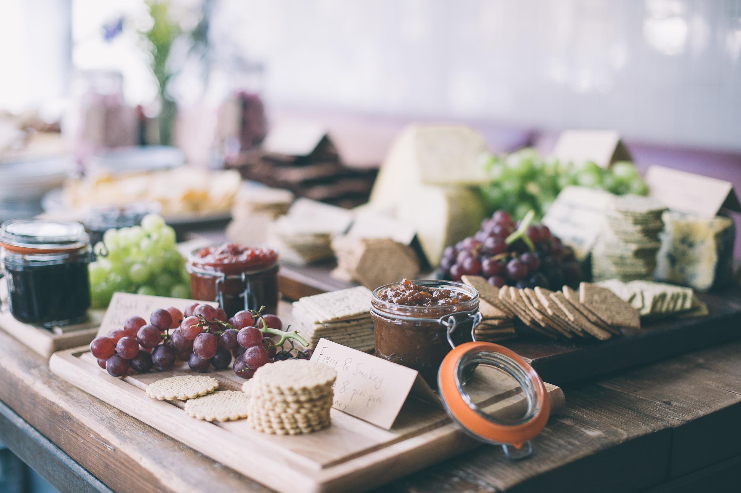 artisan of clerkenwell wedding cheese board