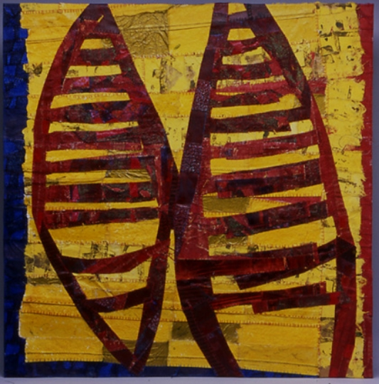 """Paired,   2003, 28"""" x 28"""""""