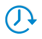 Time speed icon