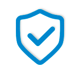 Safe shield icon