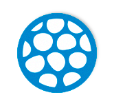 Fat molecules icon