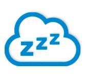 zzz sleep cloud icon