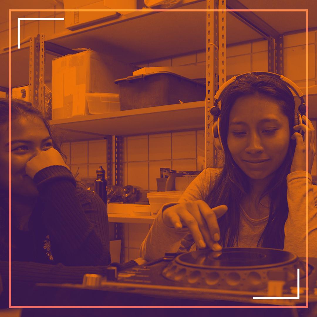 DJ +BEAT MAKING + GRAPHIC DESIGN WORKSHOPS -