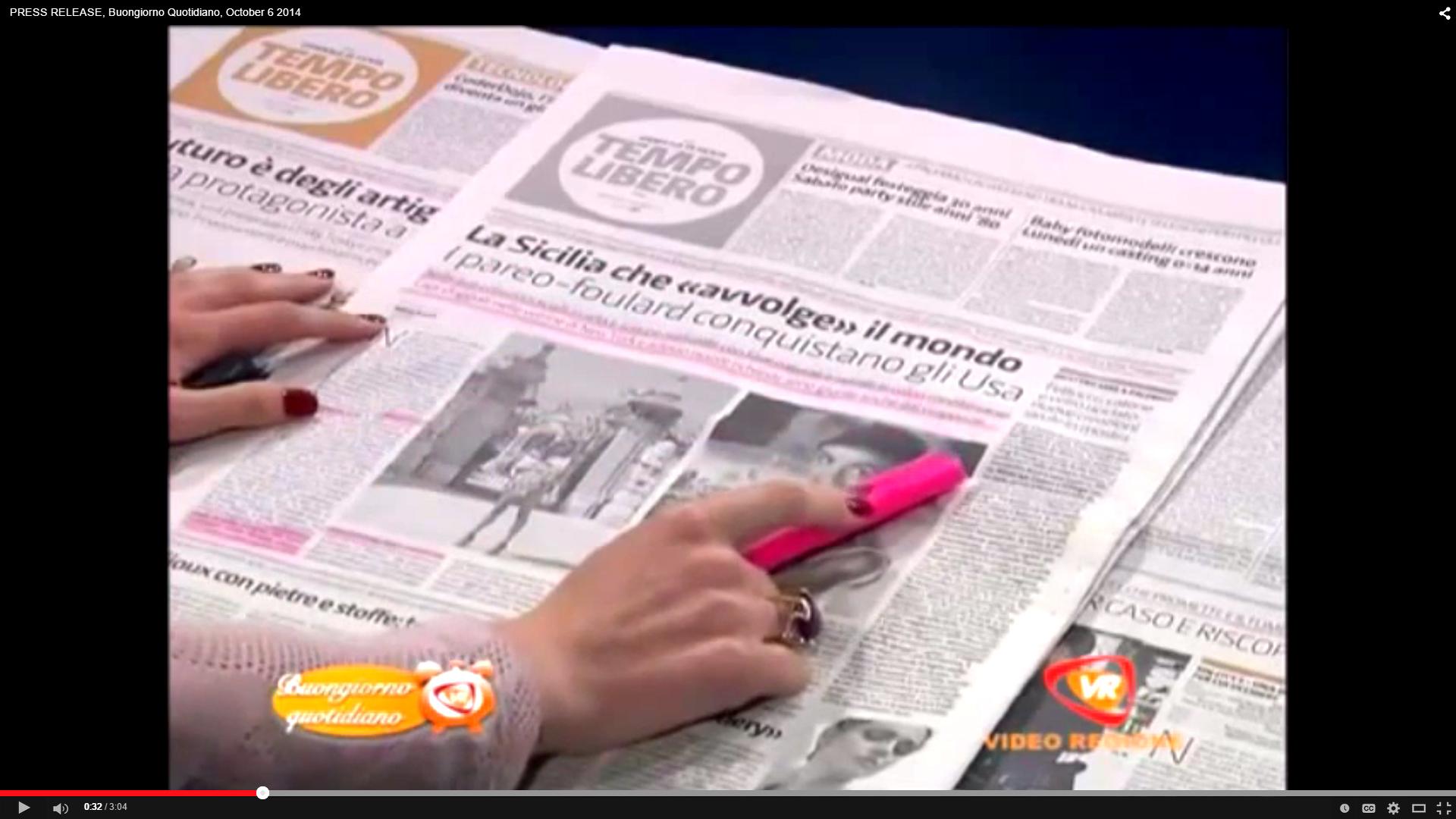 TV special news Italy
