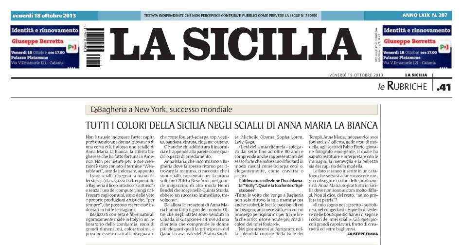 La Sicilia di Catania by Giuseppe Fumia 19 Ottobre 2013 copy.jpg