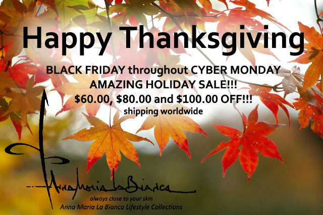 BLACK FRIDAY HOLIDAY SALE STARTS NOW!!! Get your favorite scarves $60.00, $80.00 and $100.00 OFF!!! Throughout CYBER MONDAY