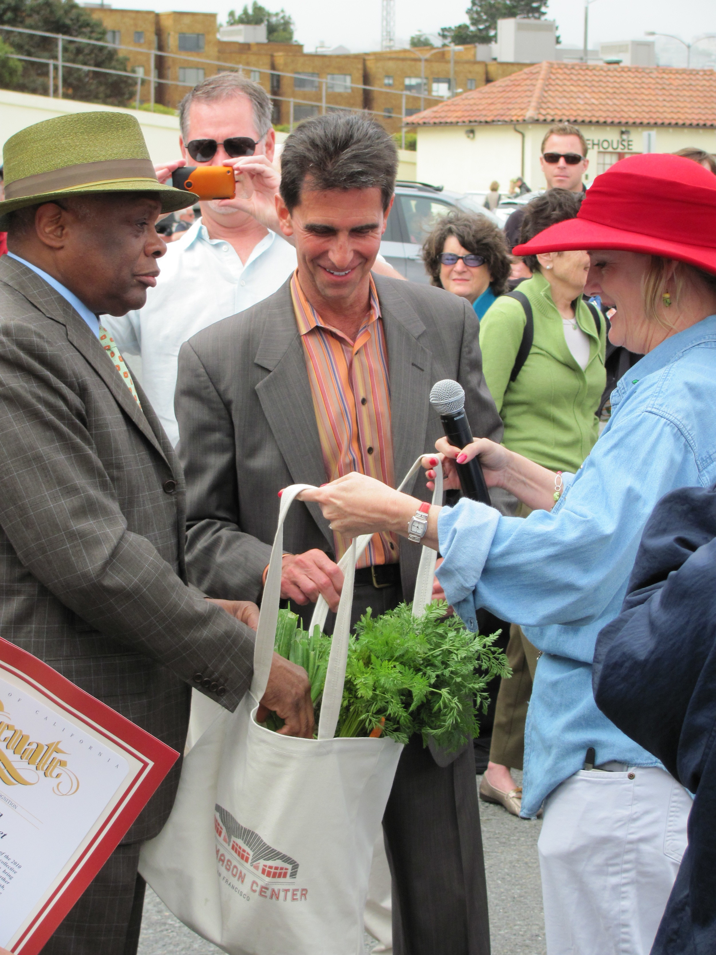 Fort Mason Center Farmers' Market had a Star Studded Opening
