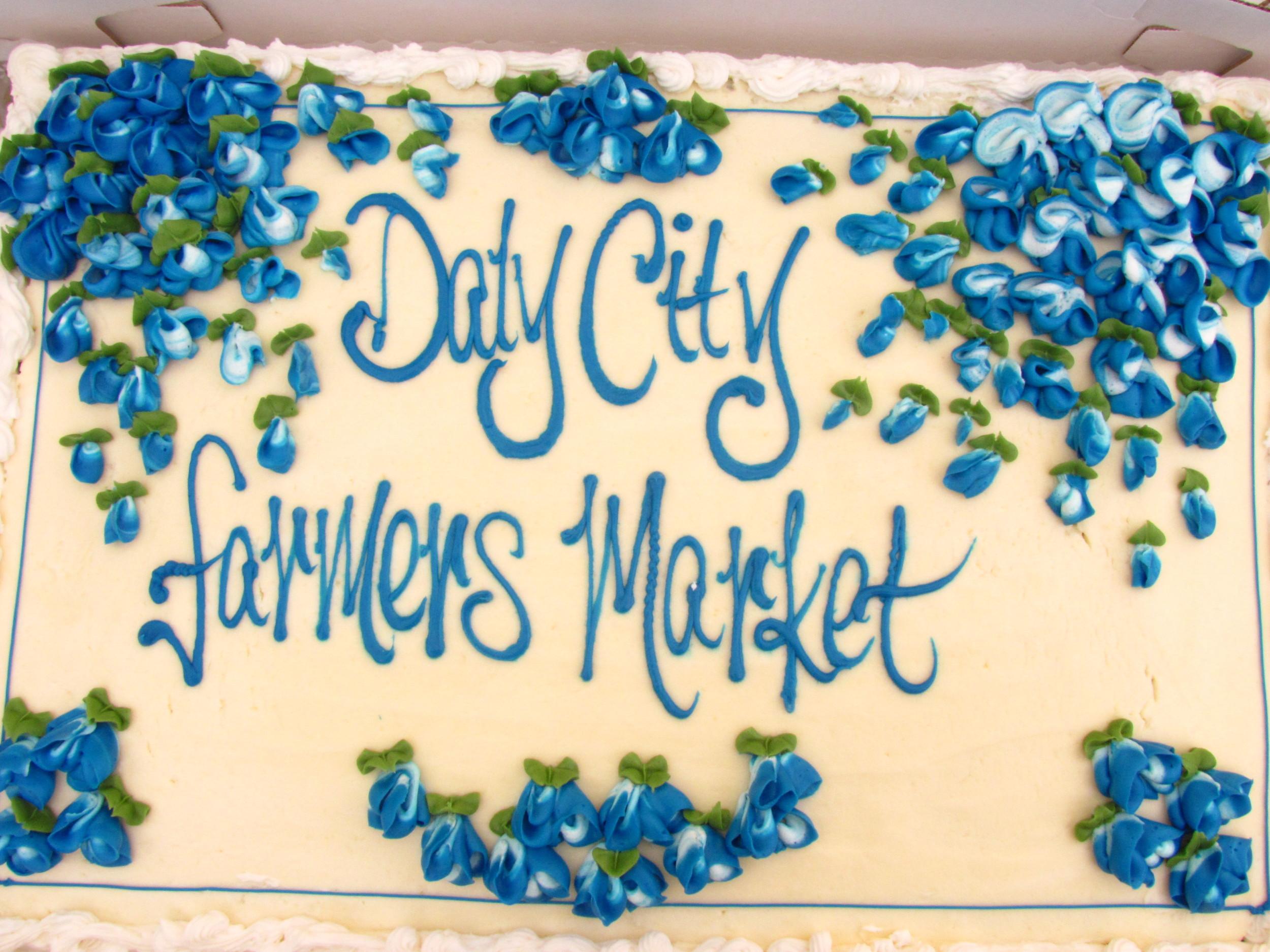 Daly City 20th Anniversary 2011 cake.JPG