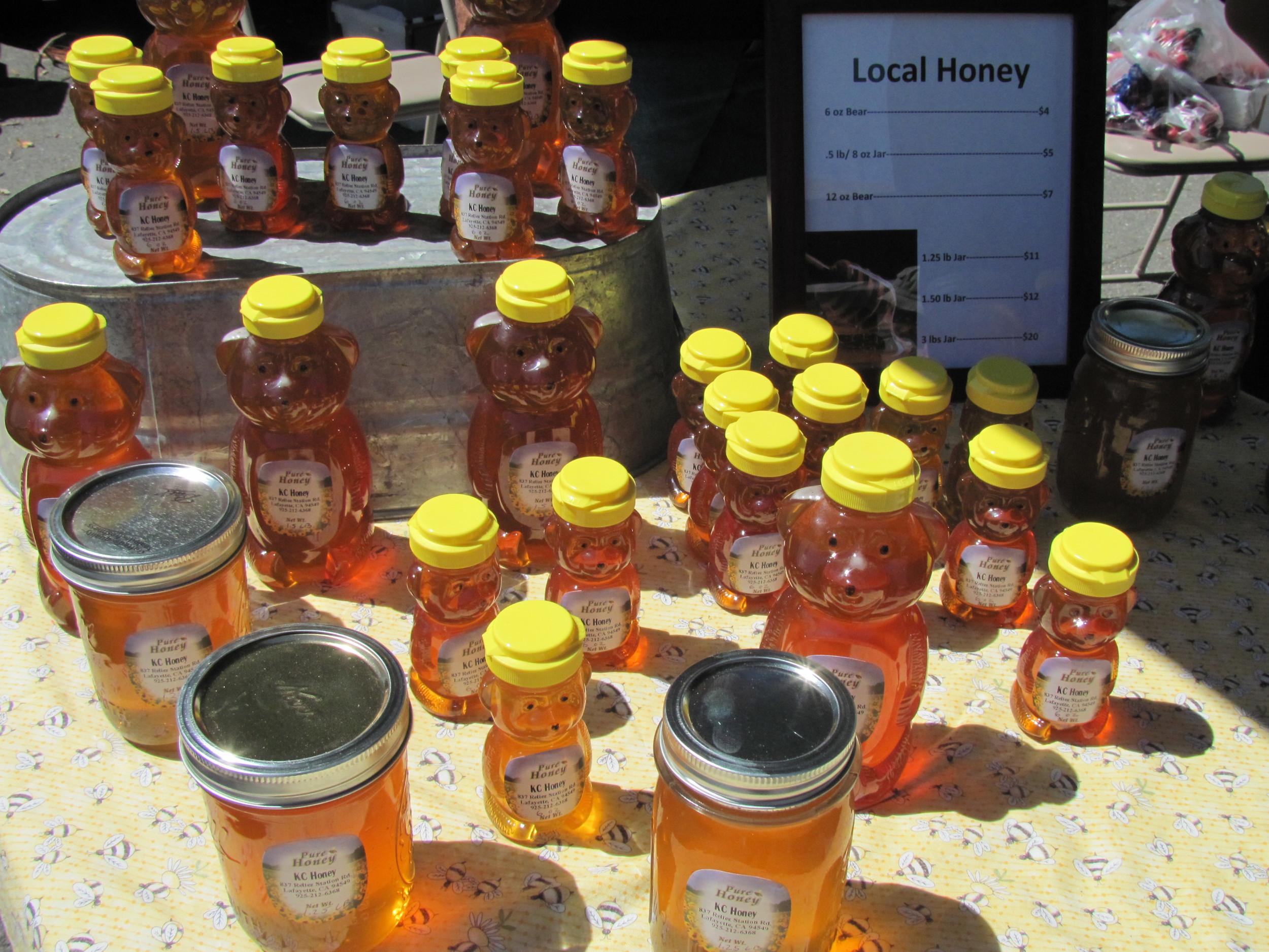 Rossmoor Farmers' Market local honey
