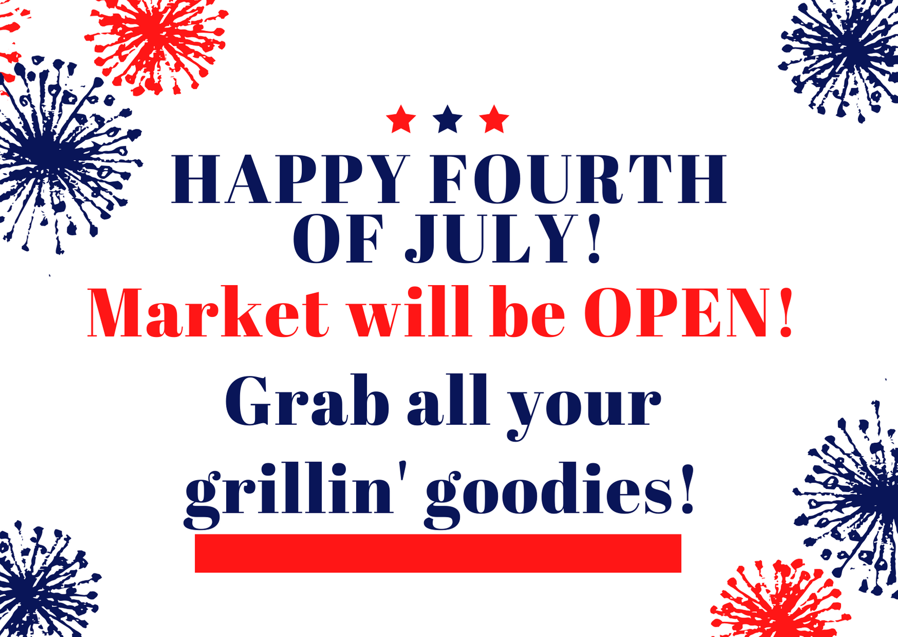 All Saturday Markets Open July 4th!!! — California Farmers' Markets  Association