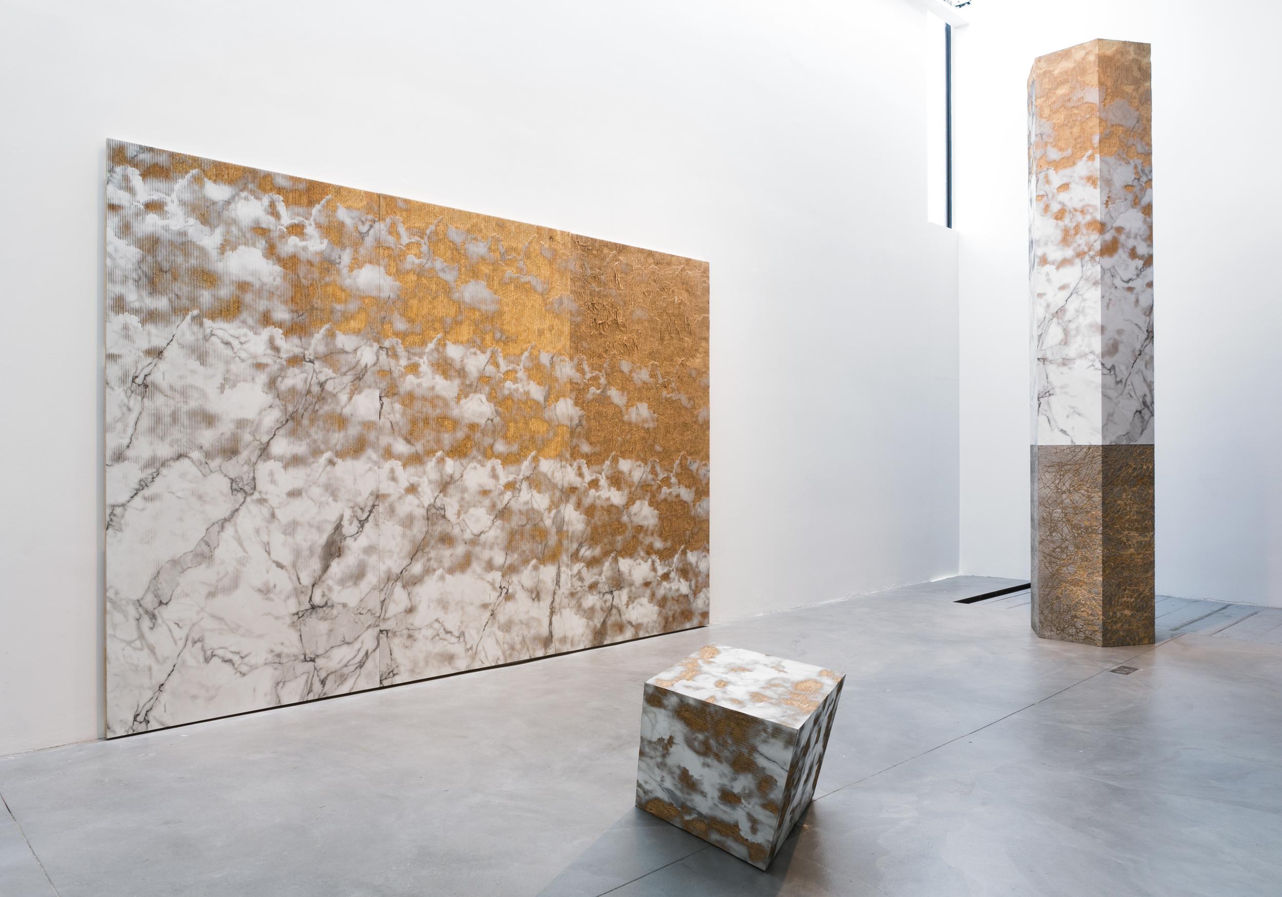 Michael DeLucia's La Pomme de Terre du Ciel exhibition