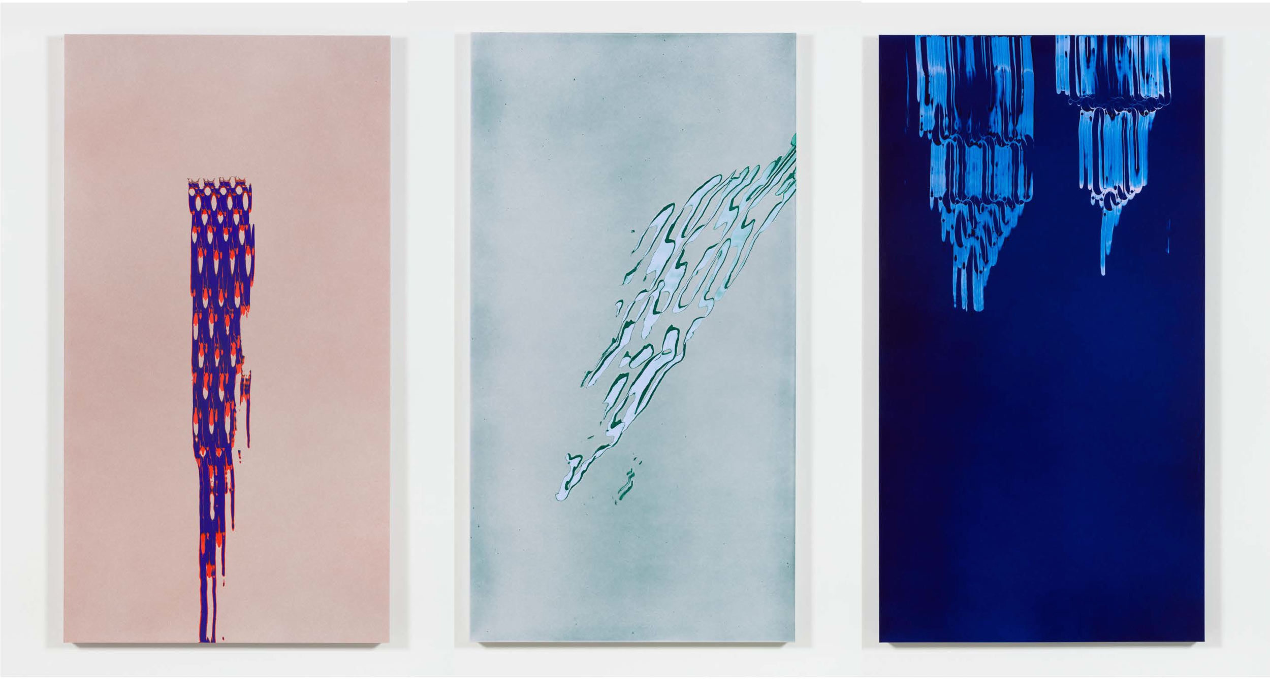 Works from Tauba Auerbach's Projective Instruments exhibition
