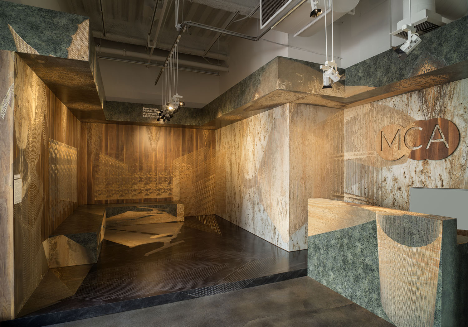 Michael DeLucia's Appearance Preserving Simplification installation