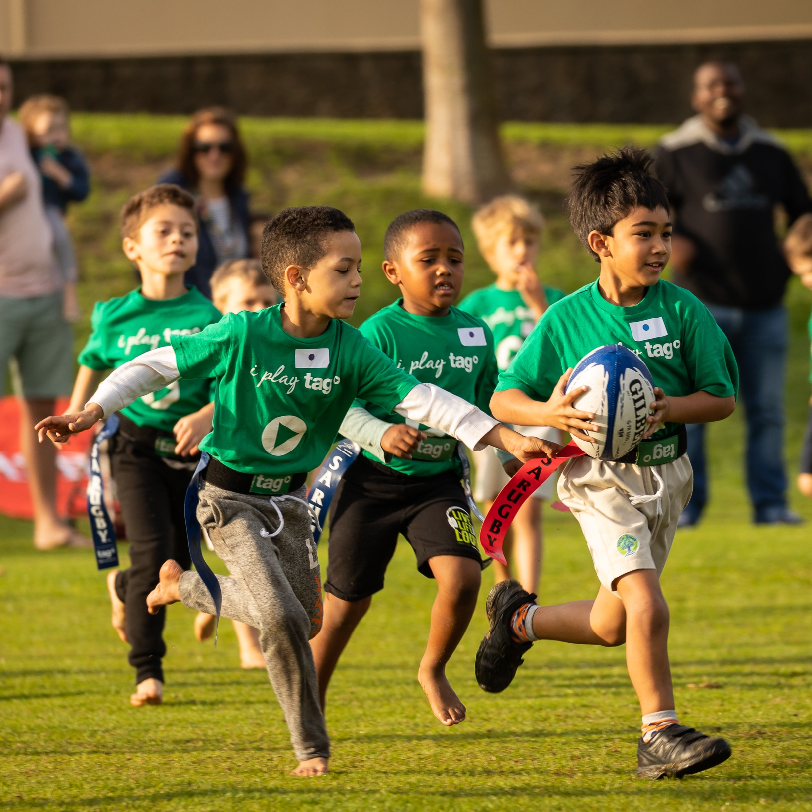 Tag Rugby games (4-a-side, 15 mins)  Springbok Experience Rugby Museum  5.00PM – 10.00PM