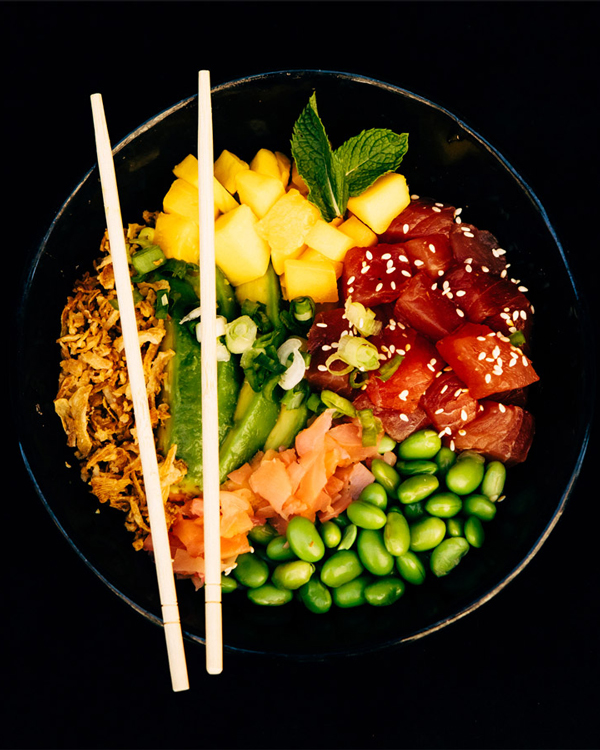 Hoke Pokey 1 Church Street   From the shores of Hawaii to the streets of Cape Town. Hokey Poke is the city's first stand-alone restaurant to offer the trendy Hawaiian dish poké bowls. The menu include seasonal produce, including the samphire, kombu, fresh fruits and more!